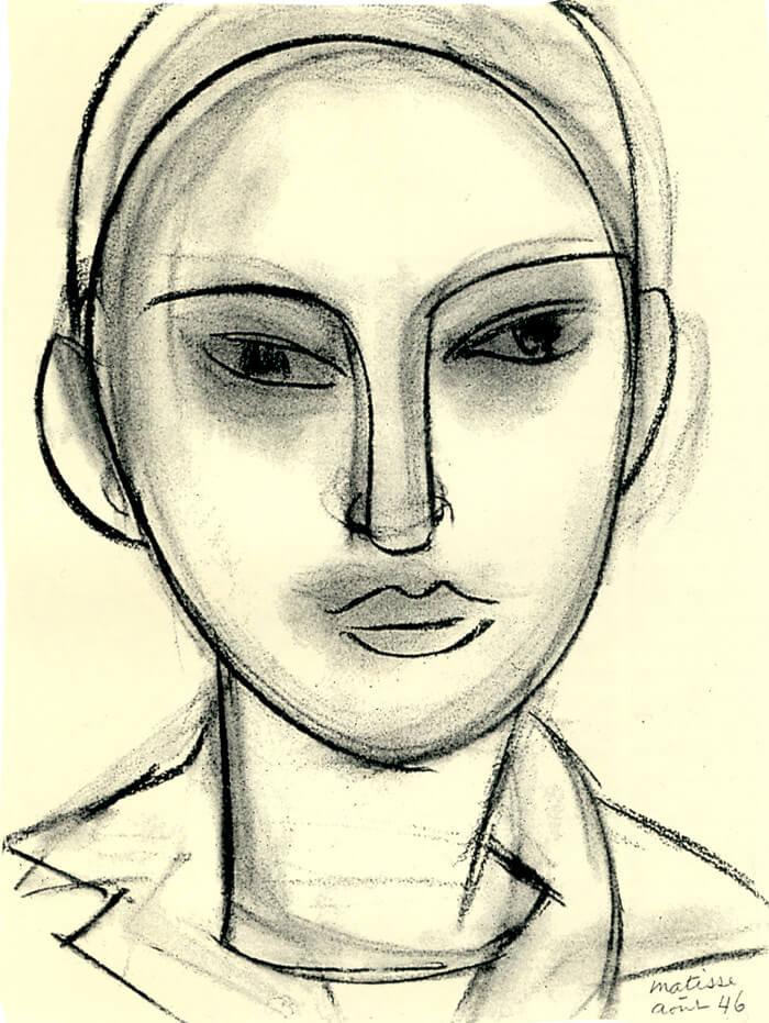Line Drawing By Matisse : Henri matisse drawings