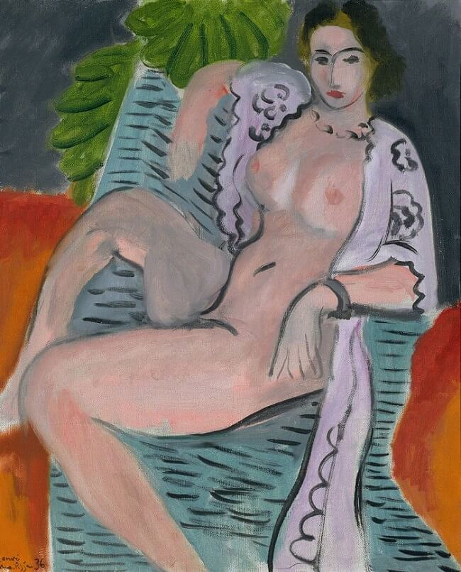 Draped Nude, 1936 by Henri Matisse