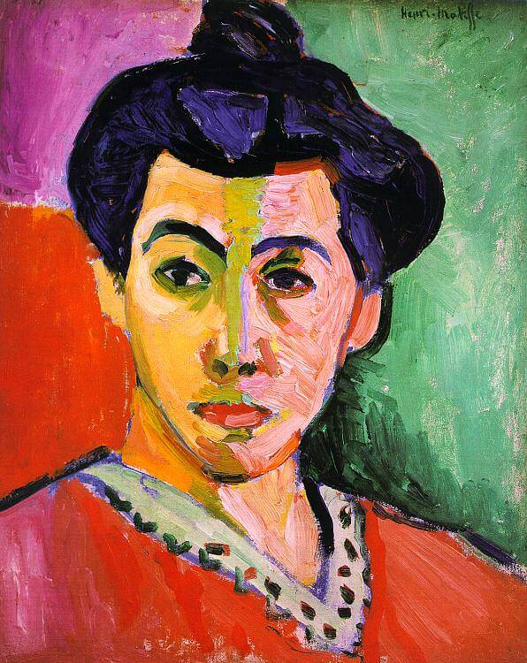 Green Stripe, 1905 by Henri Matisse