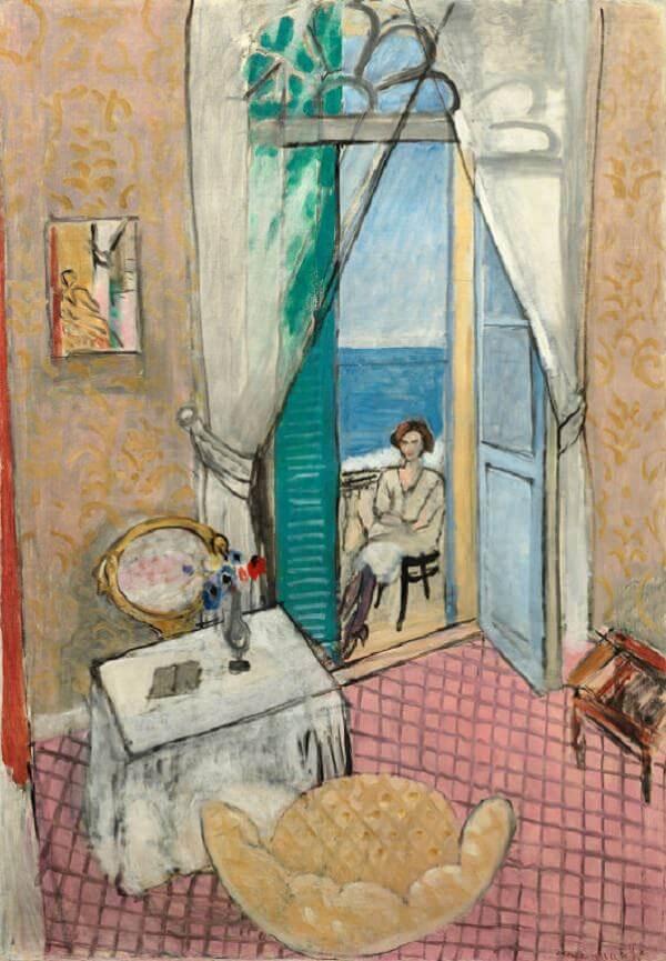 Interior At Nice 1921 By Henri Matisse
