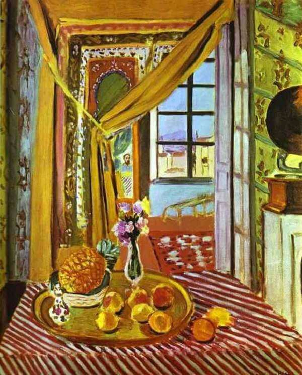 Interior with Phonograph, 1924 by Henri Matisse