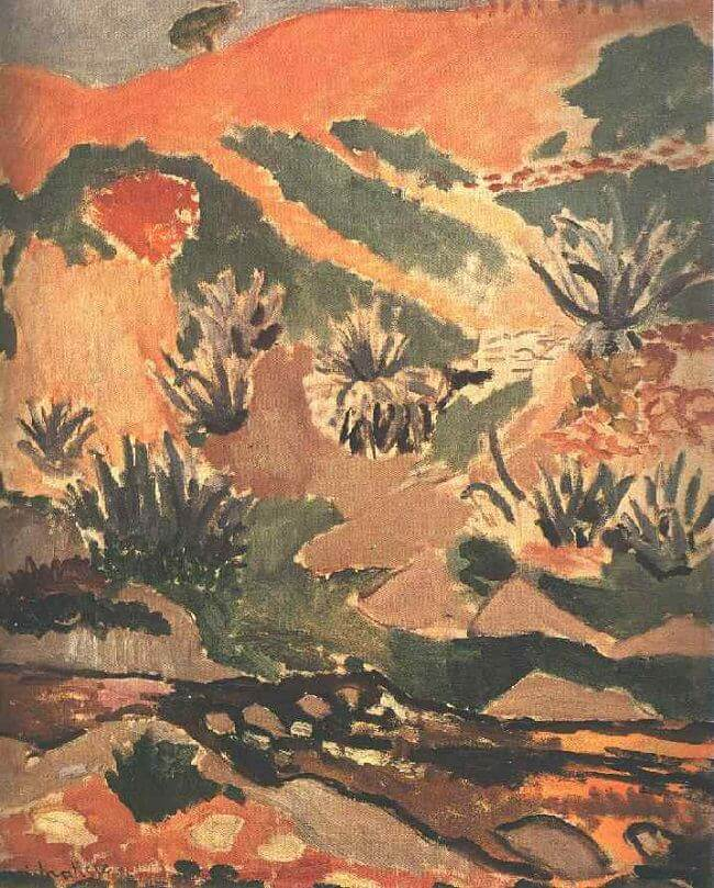 Landscape with Brook, 1907 by Henri Matisse