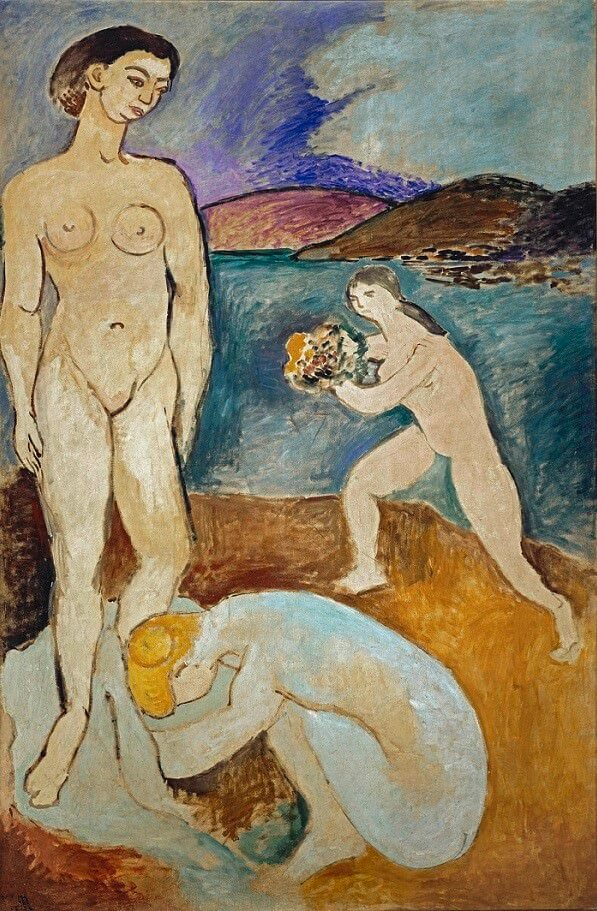 Le Luxe I, 1907, by Henri Matisse