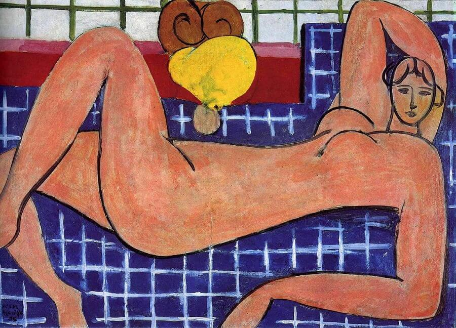 Pink Nude, 1935, by Henri Matisse