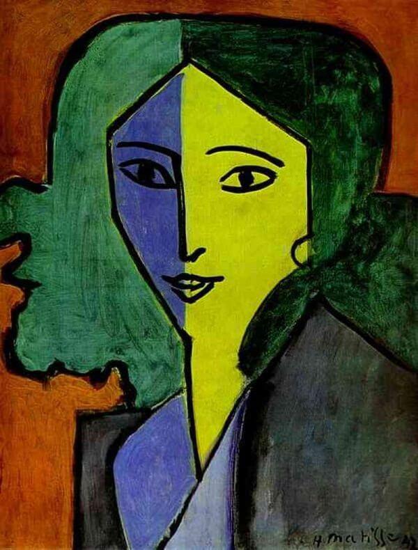 Portrait of Lydia Delectorskaya, 1947 by Henri Matisse