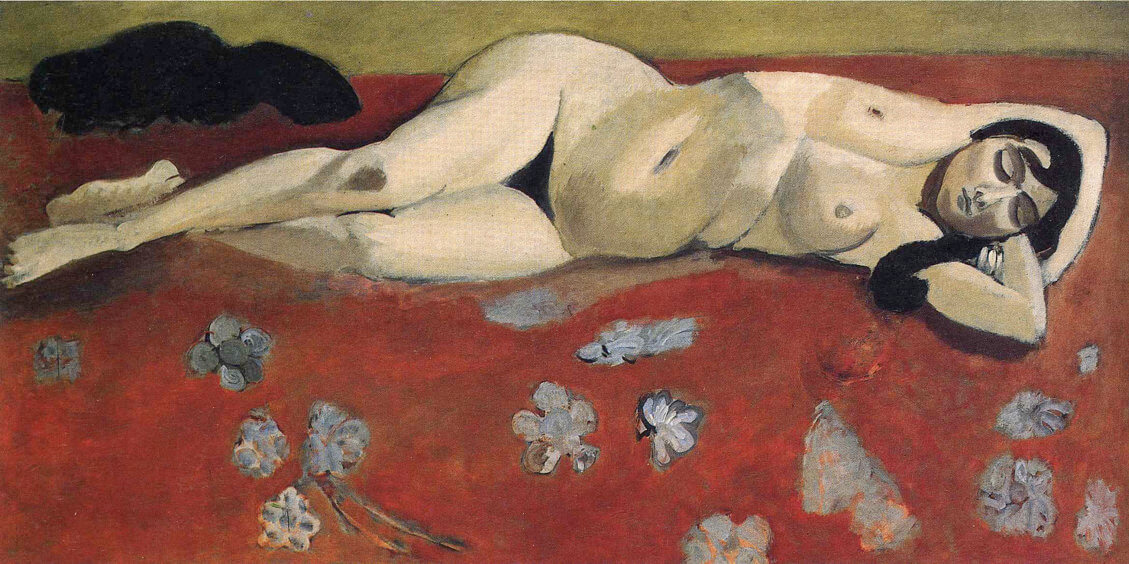 Sleeping Nude, 1916 by Henri Matisse