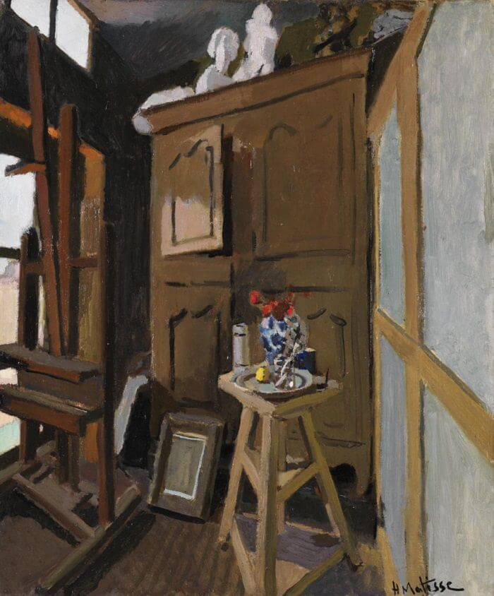 Studio Interior by Henri Matisse