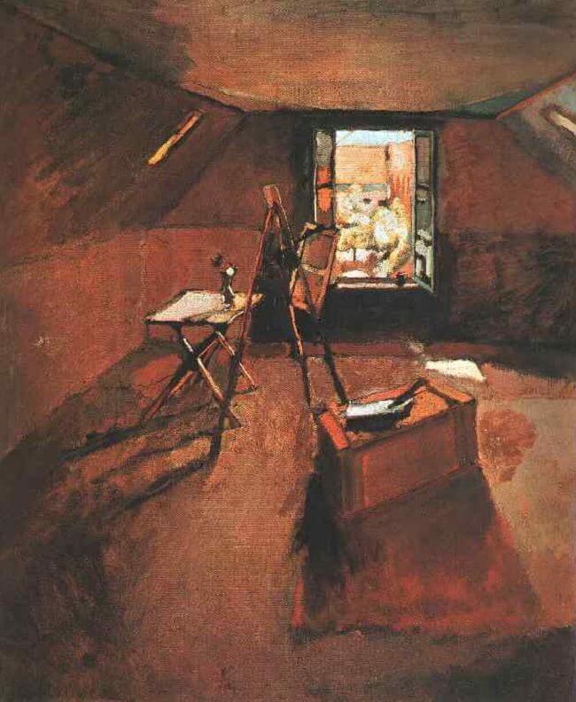 The Attic Studio 1903 By Henri Matisse