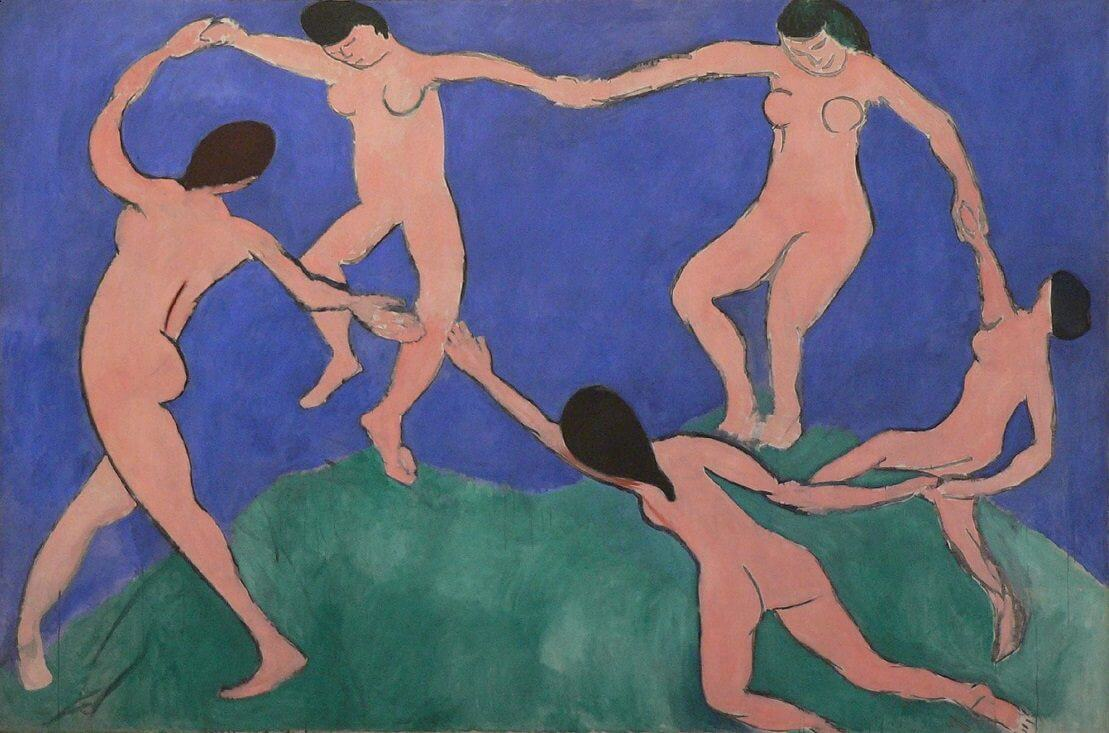 The Dance I, 1909 by Henri Matisse