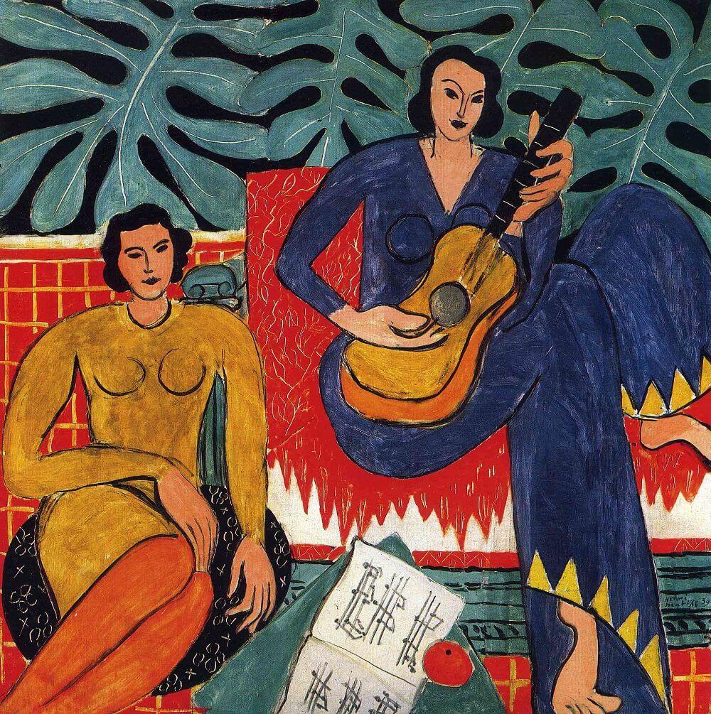 Image result for la musique 1939 matisse