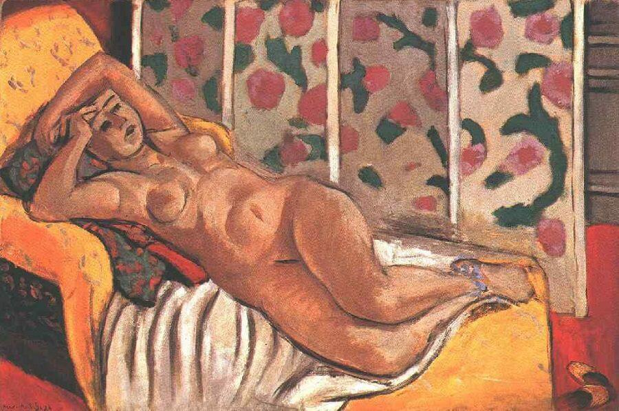 Yellow Odalisque, 1926 by Henri Matisse