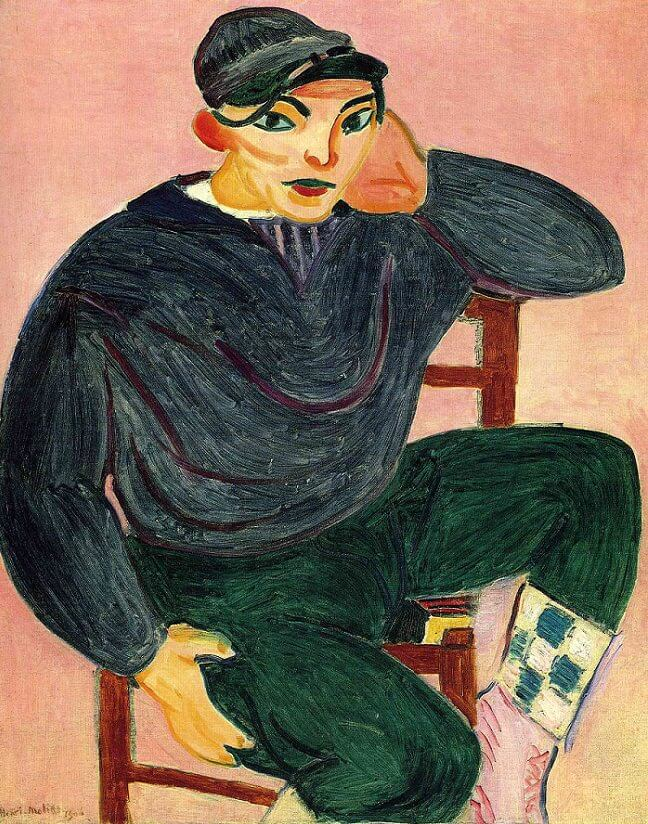 Young Sailor, 1906 by Henri Matisse