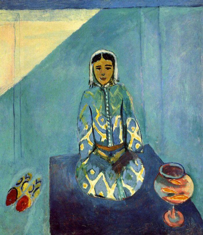 Zorah on the Terrace, 1912 by Henri Matisse