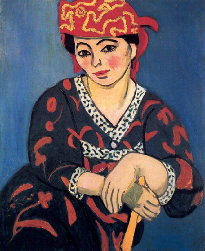 henri matisse s portrait of madame matisse Picasso picked a portrait of matisse's daughter marguerite (1907), and matisse chose a still life  henri matisse, madame matisse, 1913 oil on canvas.